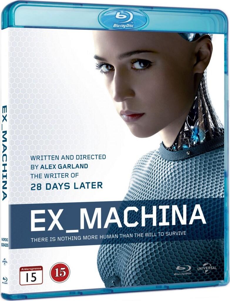 Image of   Ex Machina - Blu-Ray