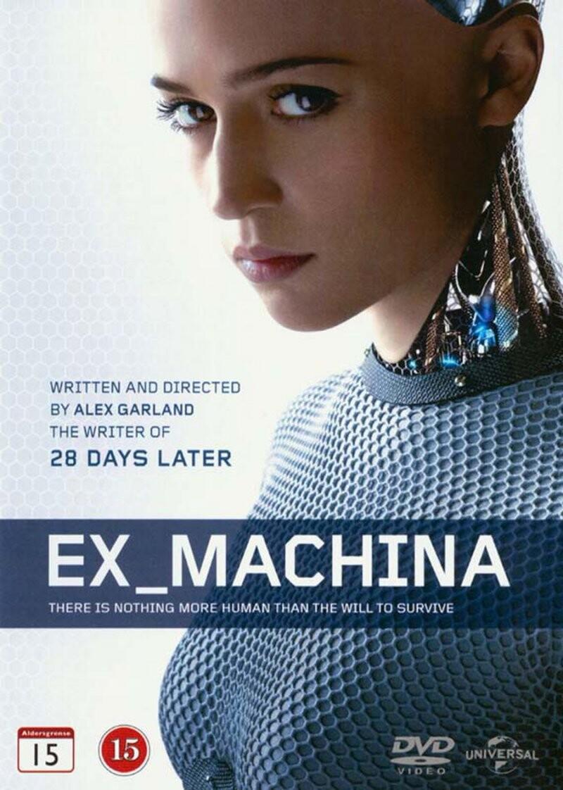Image of   Ex Machina - 2015 - DVD - Film