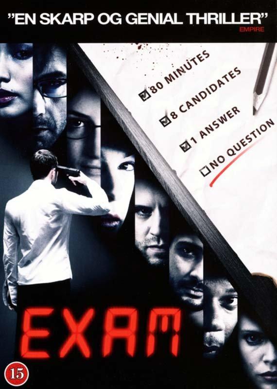Image of   Exam - DVD - Film