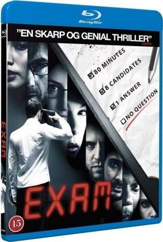 Image of   Exam - Blu-Ray