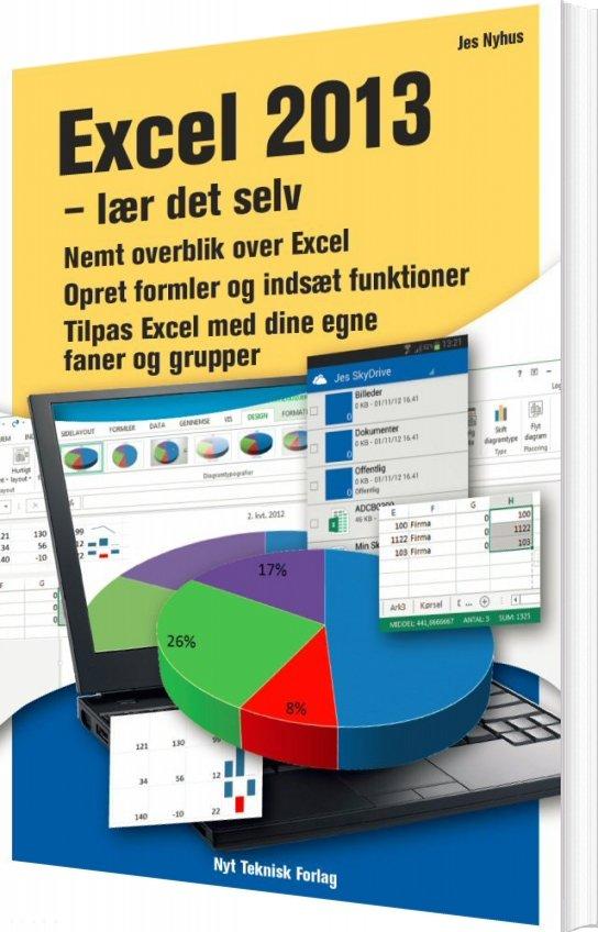 Billede af Excel 2013 - Jes Nyhus - Bog