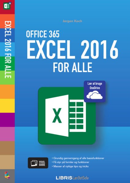 Image of   Excel 2016 For Alle - Jørgen Koch - Bog