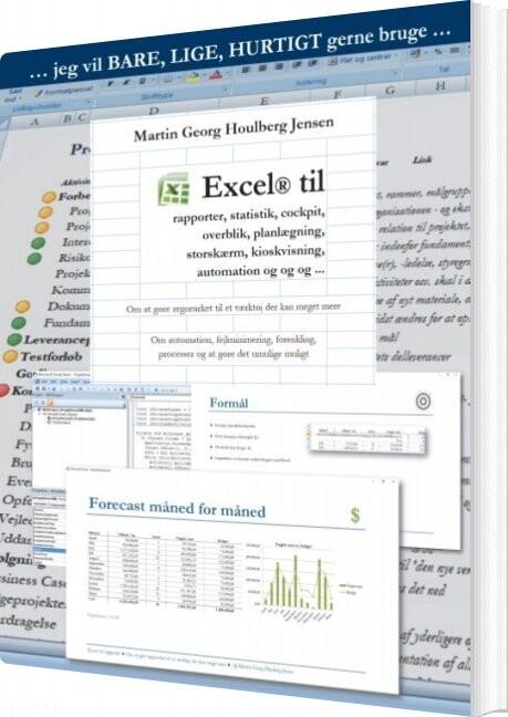 Image of   Excel Til Rapporter - Martin Jensen - Bog