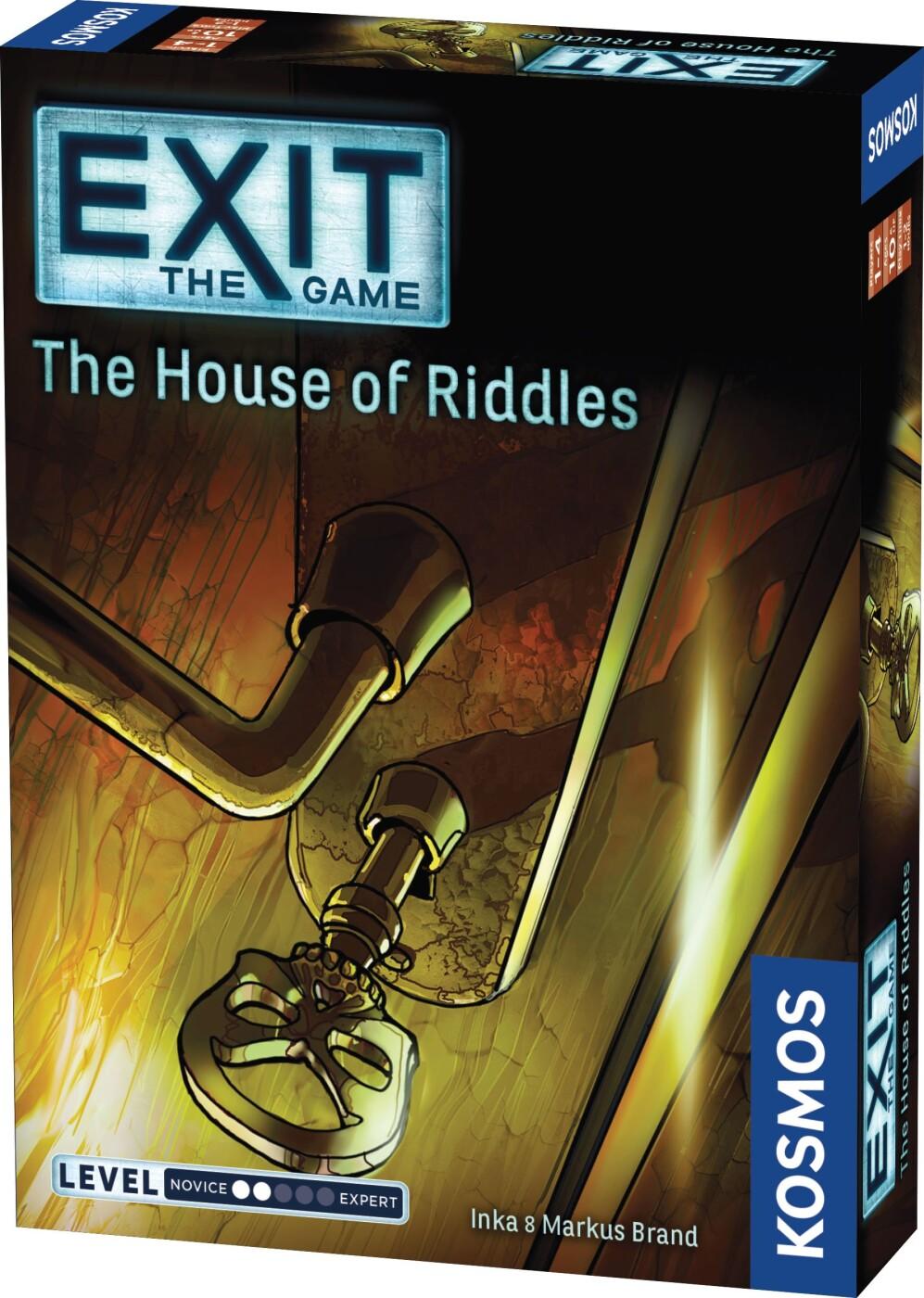 Image of   Exit The Game - The House Of Riddles - Brætspil På Engelsk