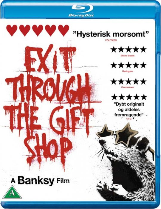 Image of   Exit Through The Gift Shop - Blu-Ray