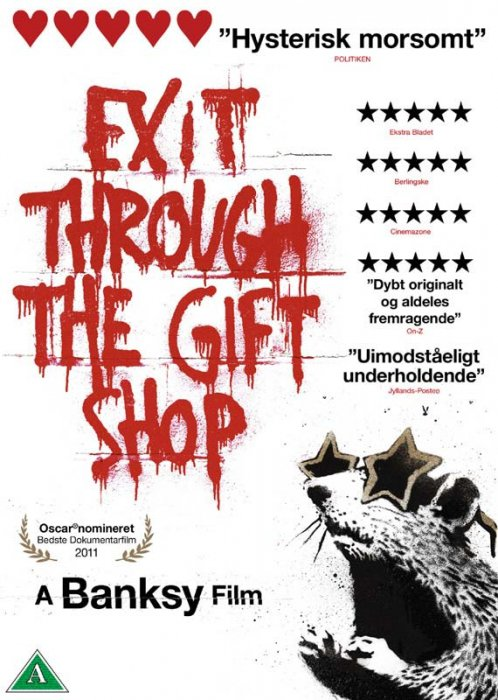 Image of   Exit Through The Gift Shop - DVD - Film