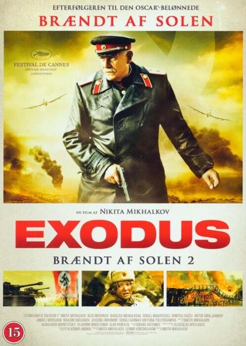 Exodus - Brændt Af Solen 2 - DVD - Film
