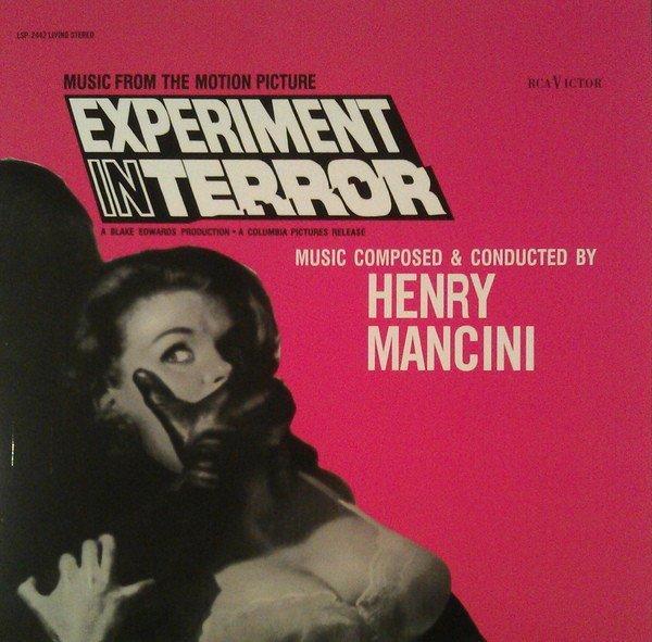 Image of   Experiment In Terror Soundtrack - Vinyl / LP