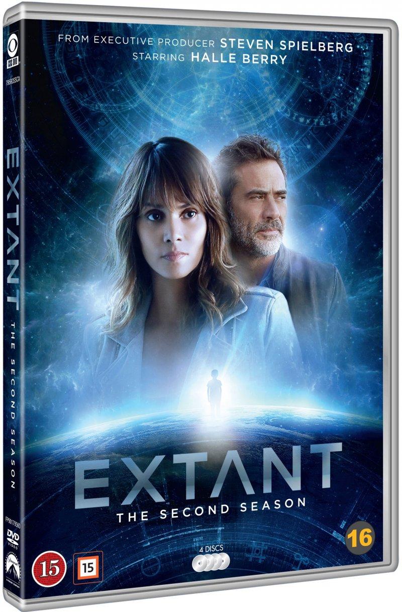 Image of   Extant - Sæson 2 - DVD - Tv-serie