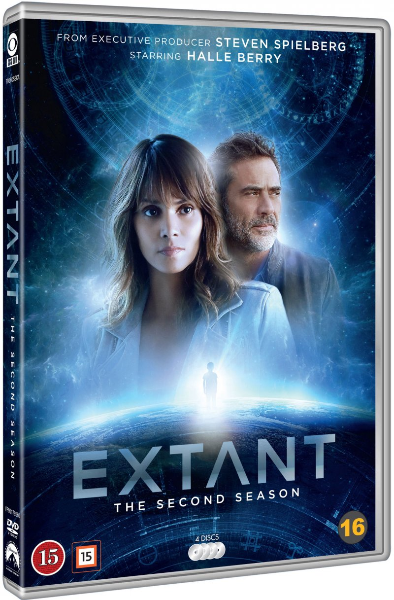 Image of   Extant - Sæson 2 - DVD - Tv-serie