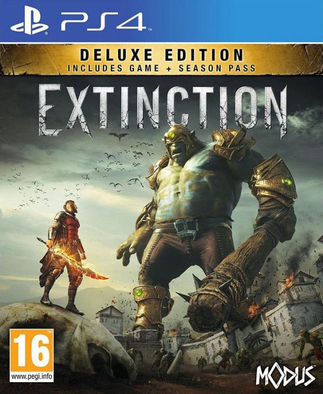 Image of   Extinction: Deluxe Edition - PS4