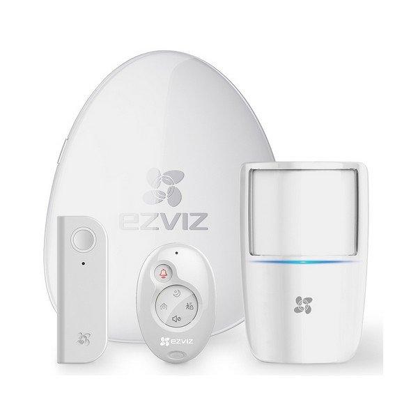 Image of   Ezviz - Alarmsystem Uden Abonnement - 4 Dele - Wifi - Hvid