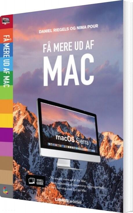 Image of   Få Mere Ud Af Din Mac - Os Sierra - Daniel Riegels - Bog