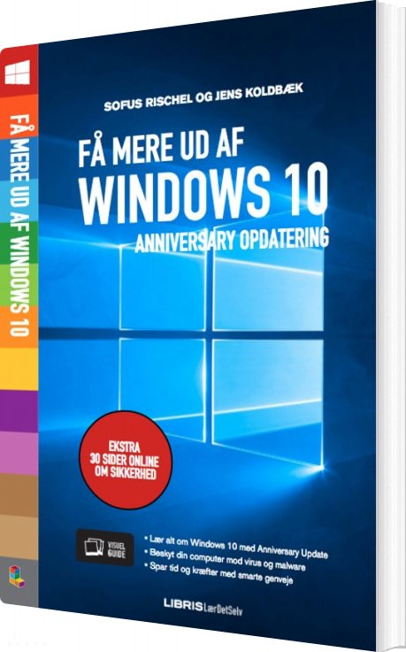 Image of   Få Mere Ud Af Windows 10 - Jens Koldbæk - Bog
