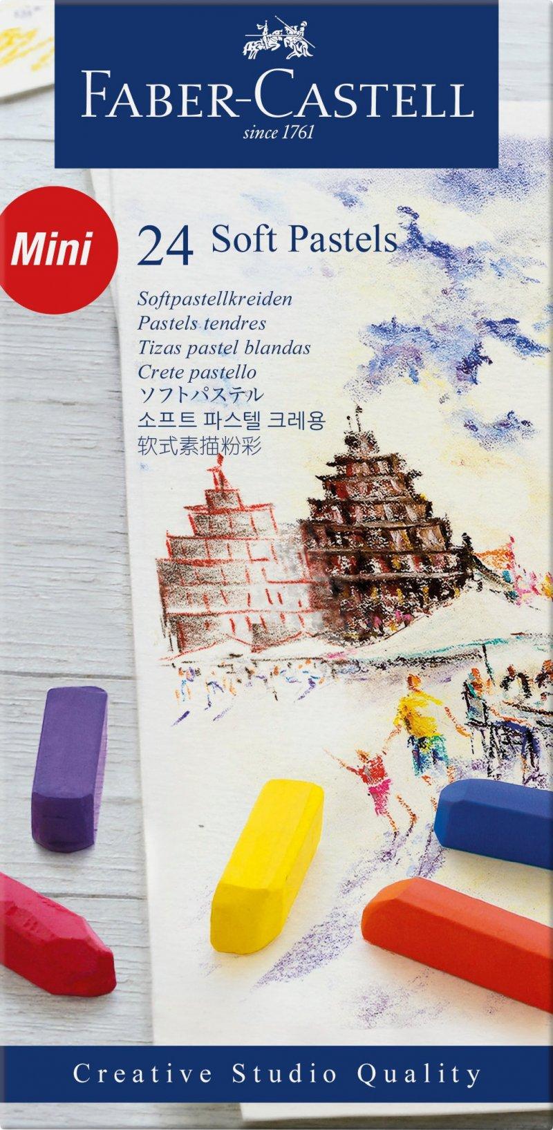 Image of   Faber Castell Pastelkridt - 24 Stk.
