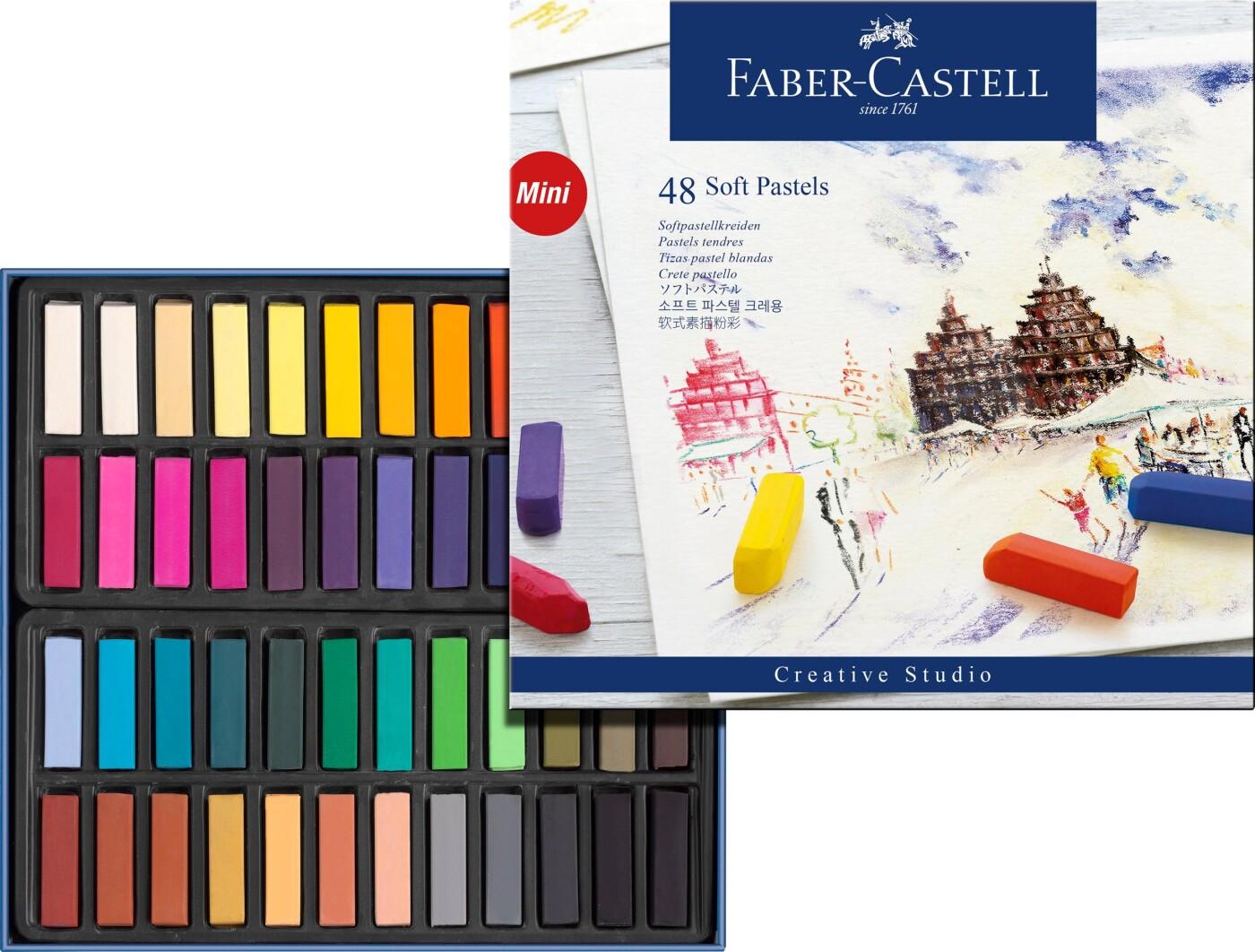 Image of   Faber Castell Pastelkridt - 48 Stk