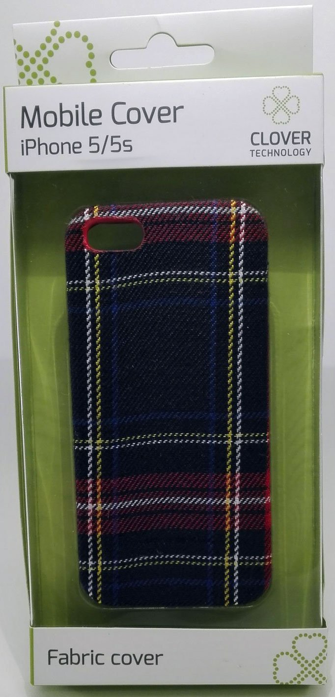Image of   Iphone 5/5s Cover - Mønster - Clover