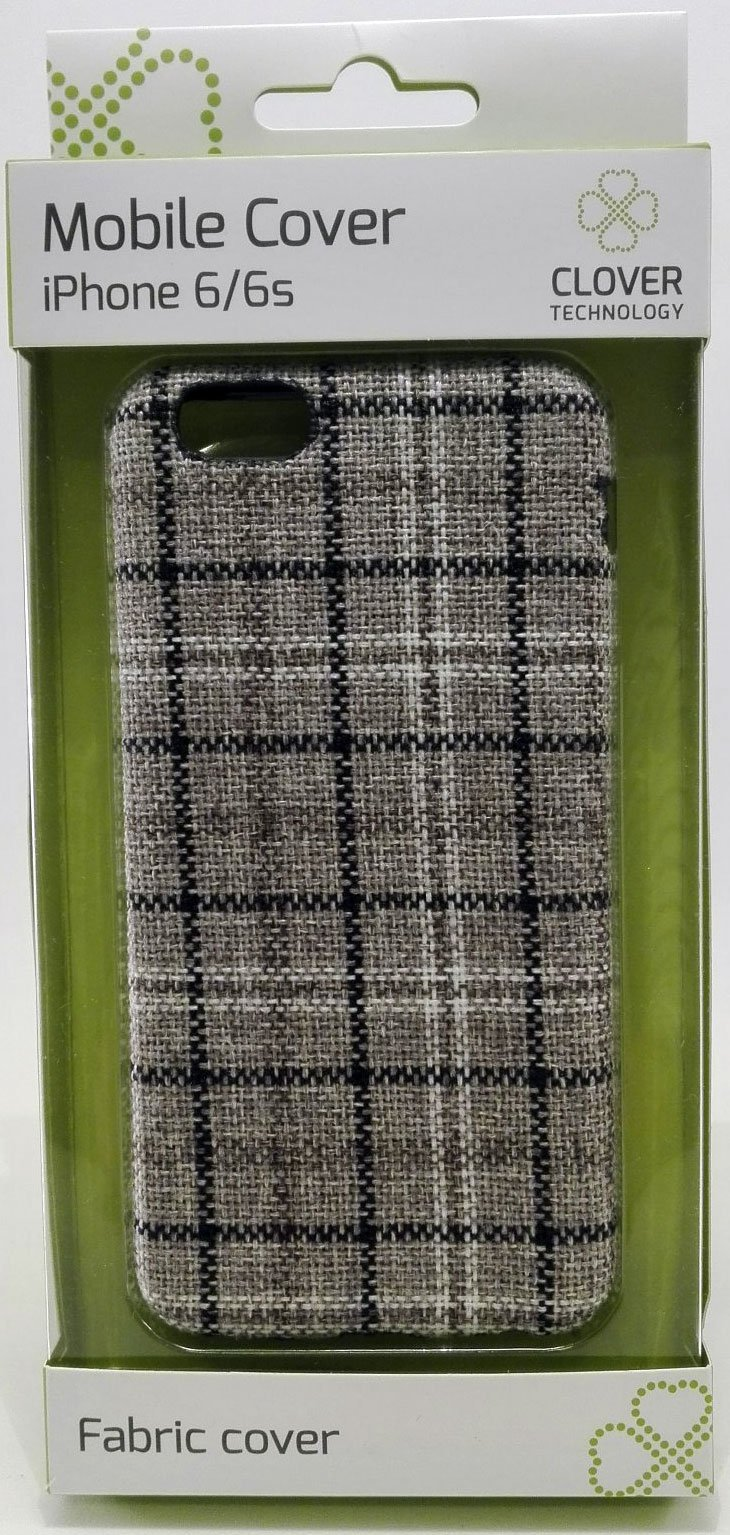 Image of   Iphone 6/6s Cover - Mønster - Clover