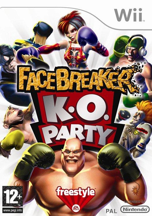 Image of   Facebreaker K.o Party (nordic) - Wii