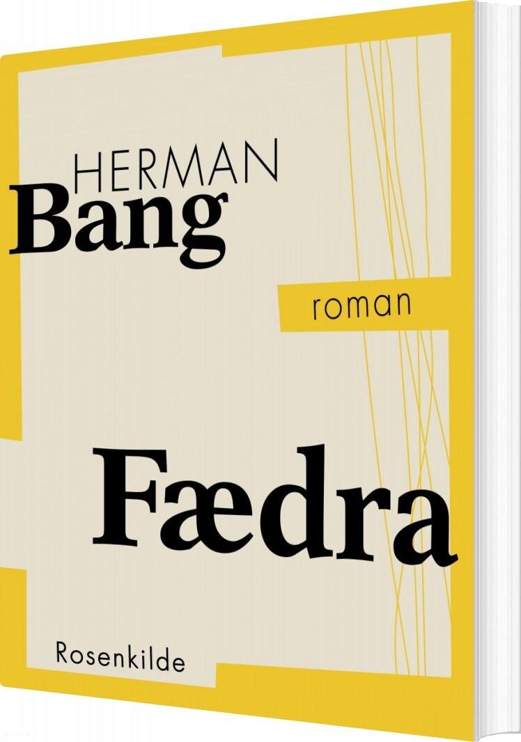 Image of   Fædra - Herman Bang - Bog