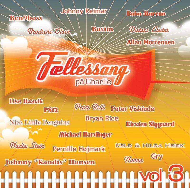 Image of   Fællessang På Charlie Vol. 3 - 2016 - CD