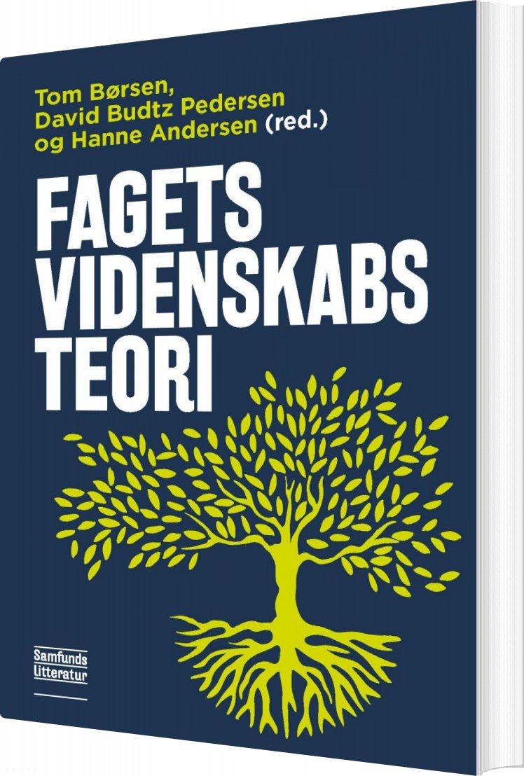 Image of   Fagets Videnskabsteori - Hanne Andersen - Bog