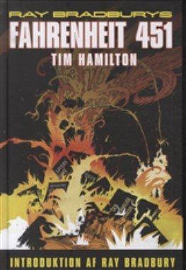 Billede af Fahrenheit 451 - Ray Bradbury - Tegneserie