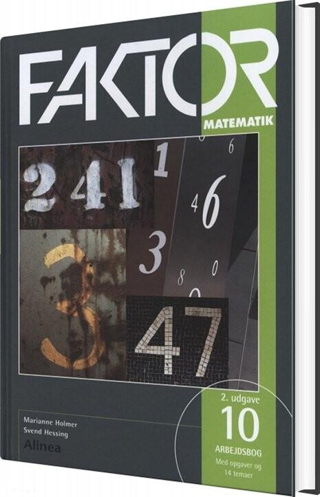 Faktor 10, Arbejdsbog - 2. Udgave - Marianne Holmer - Bog