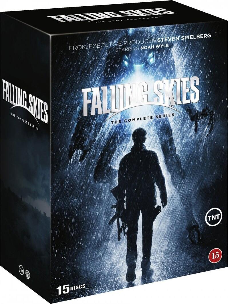 Image of   Falling Skies - Den Komplette Serie - DVD - Tv-serie