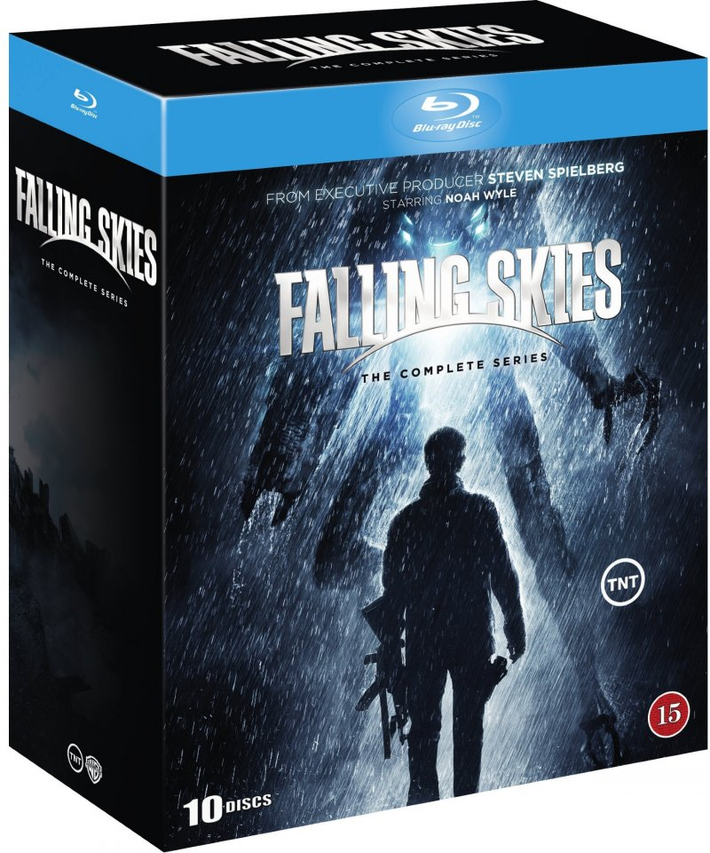 Image of   Falling Skies - Den Komplette Serie - Blu-Ray - Tv-serie