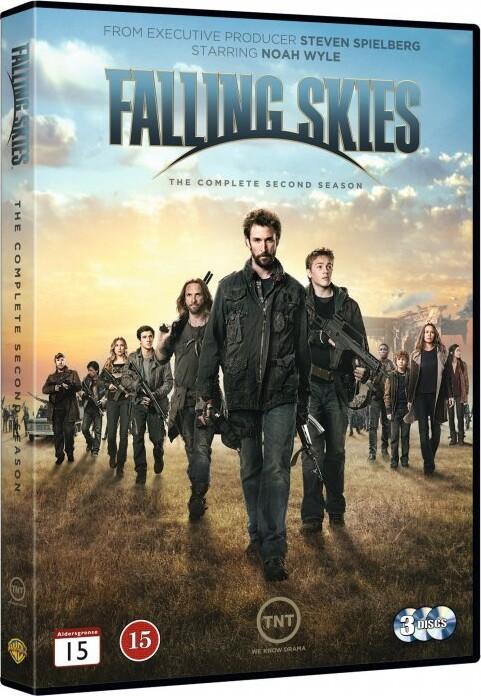 Image of   Falling Skies - Sæson 2 - DVD - Tv-serie