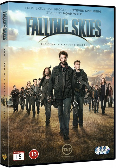Image of   Falling Skies - Sæson 2 - DVD - Tv-serie