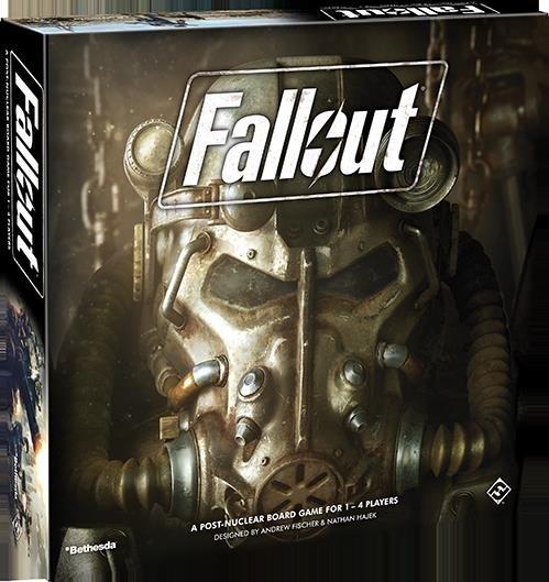 Fallout - Brætspil - Engelsk