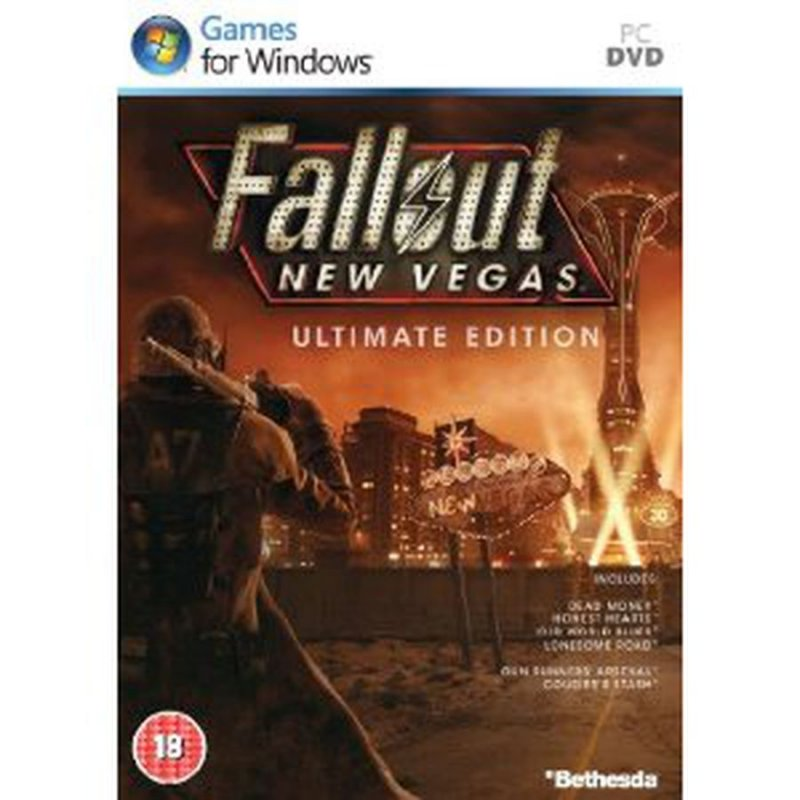 Image of   Fallout New Vegas Ultimate Edition - PC
