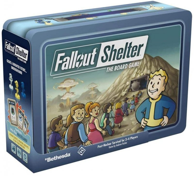 Fallout Shelter - The Board Game - Brætspil
