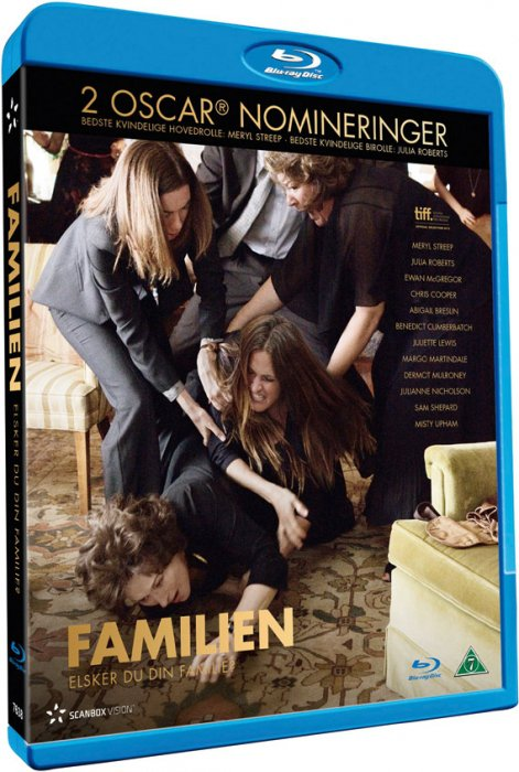 Image of   August Osage County / Familien - Blu-Ray