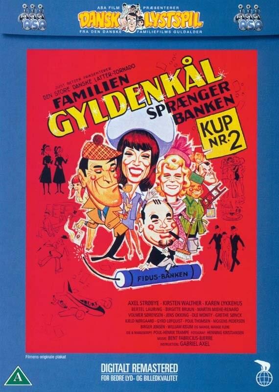 Image of   Familien Gyldenkål 2 - Sprænger Banken - DVD - Film
