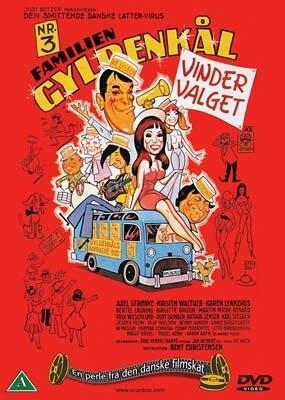 Image of   Familien Gyldenkål 3 - Vinder Valget - DVD - Film