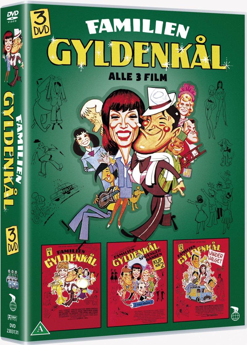Billede af Familien Gyldenkål Box - Komplet Samling - DVD - Film
