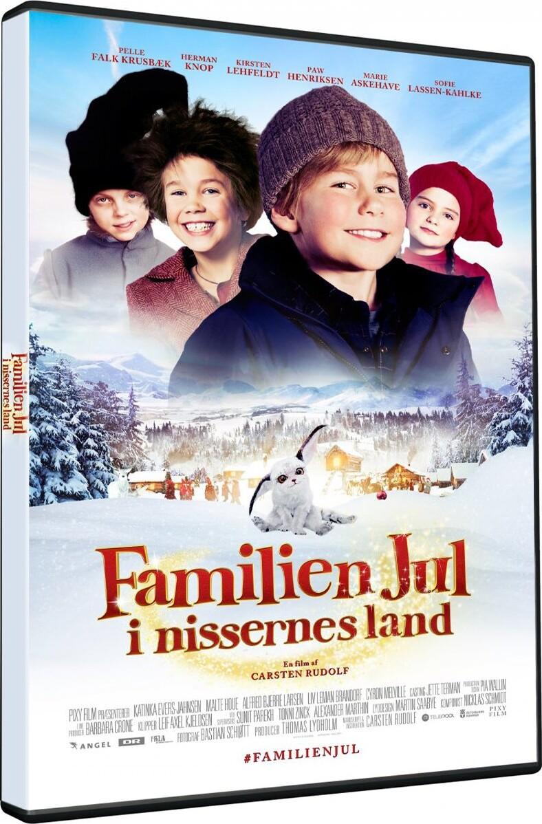 Image of   Familien Jul 2 - I Nissernes Land - DVD - Film