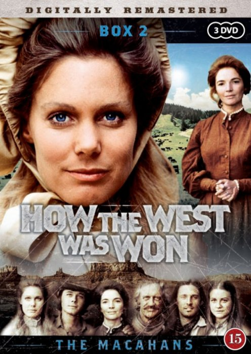 Familien Macahan How The West Was Won - Boks 2 - DVD - Tv-serie