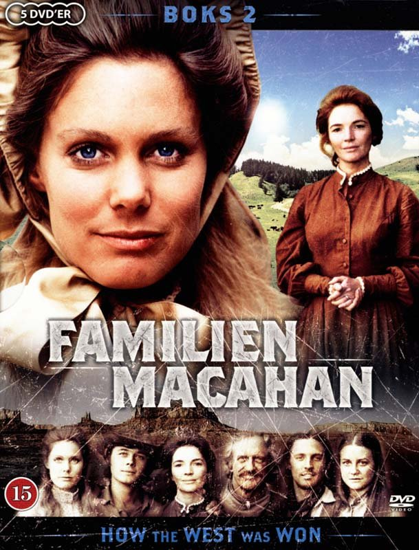 How The West Was Won / The Macahans - Boks 2 - DVD - Tv-serie