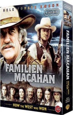 Familien Macahan How The West Was Won - Boks 1 - DVD - Tv-serie
