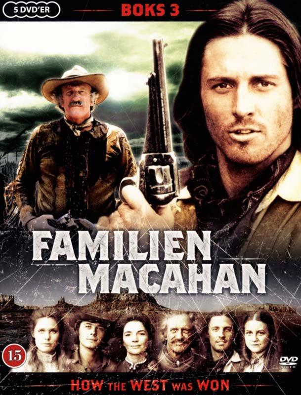 Familien Macahan - Sæson 3 - DVD - Tv-serie