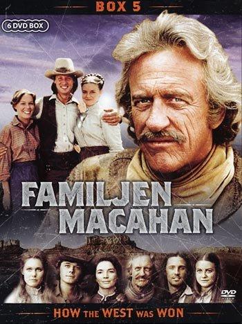 Familien Macahan - Sæson 5 - DVD - Tv-serie