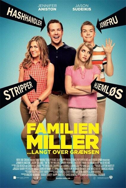 Billede af Were The Millers / Familien Miller - Langt Over Grænsen - DVD - Film