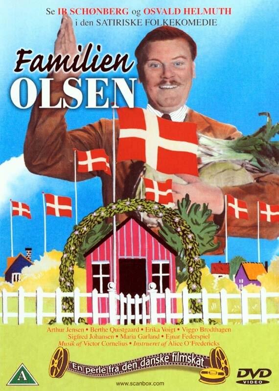 Image of   Familien Olsen - DVD - Film