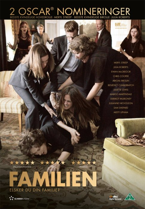 Image of   August Osage County / Familien - DVD - Film