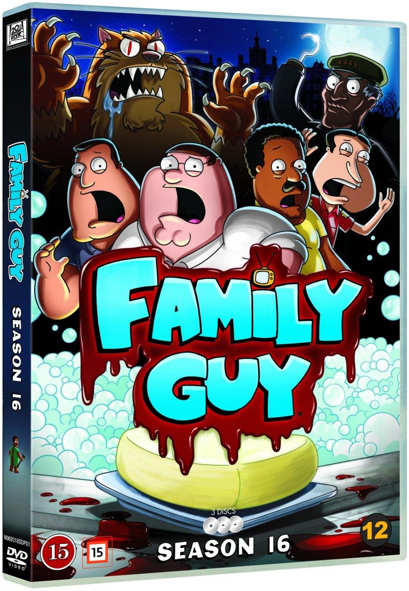 Family Guy - Sæson 16 - DVD - Tv-serie
