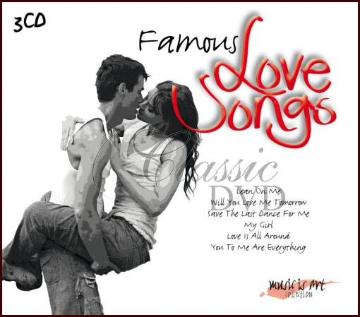 Image of   Famous Love Songs - CD